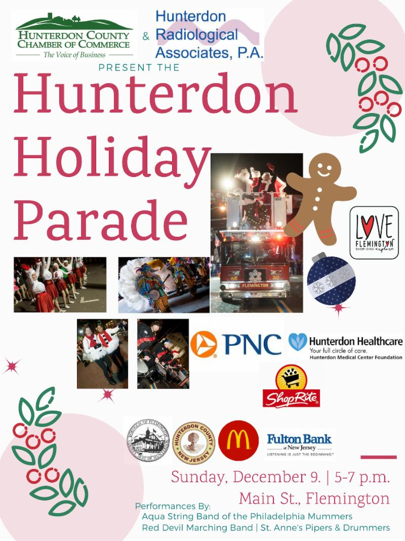 Hunterdon Holiday Parade 2018