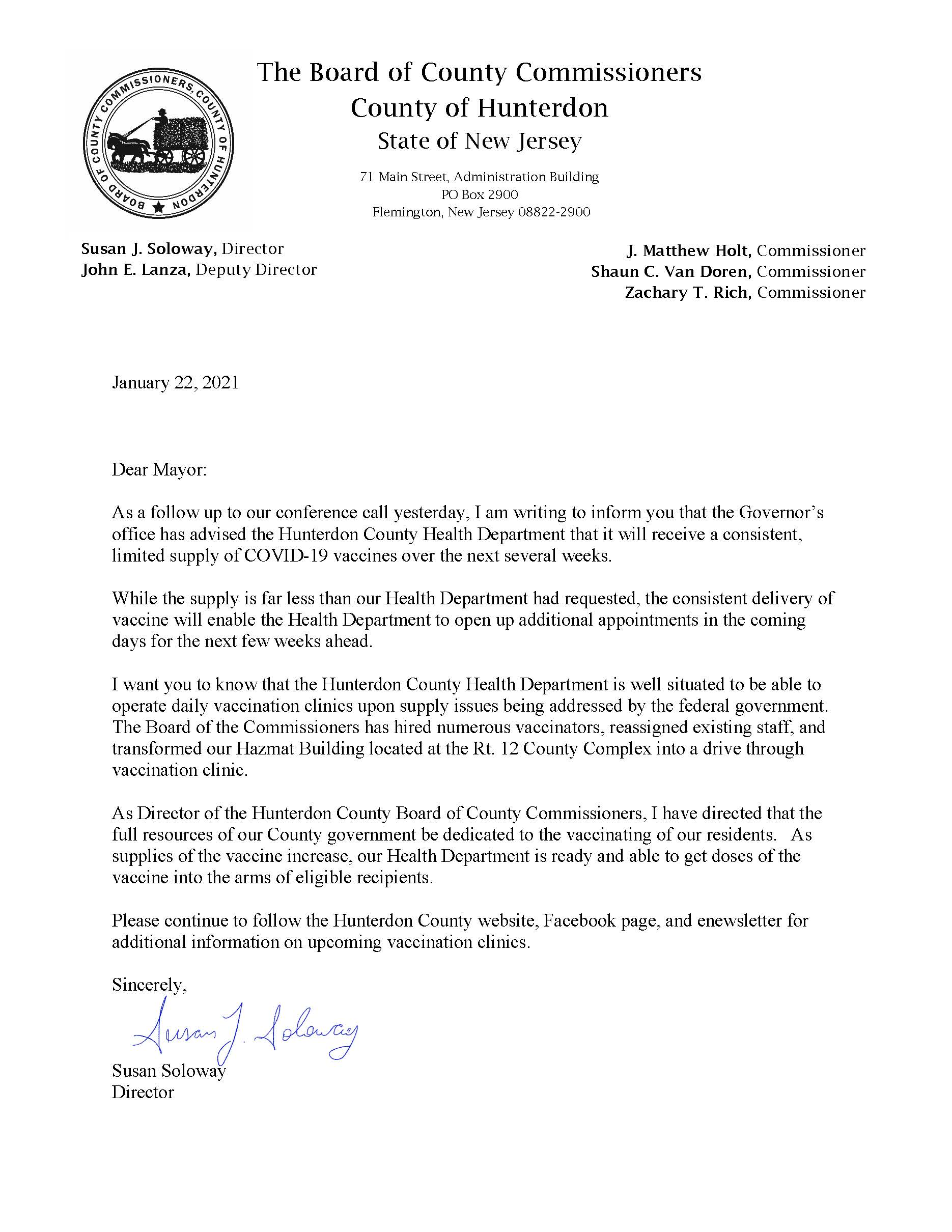 Follow Up Mayors Letter-Soloway