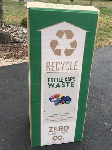 Zero Waste Box for caps